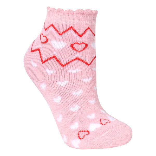 Twitcher Kids' Printed Socks in Light Pink