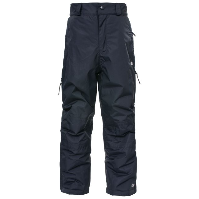 Marvelous Kids' Insulated Salopettes in Black
