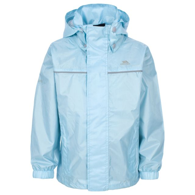 Neely Kids' Waterproof Jacket in Light Blue