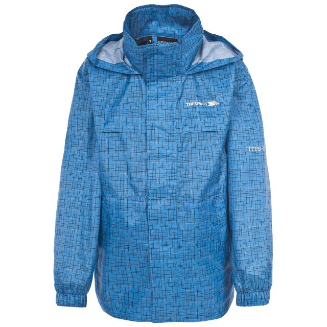 Totam Kids' Waterproof Packaway Jacket  in Blue