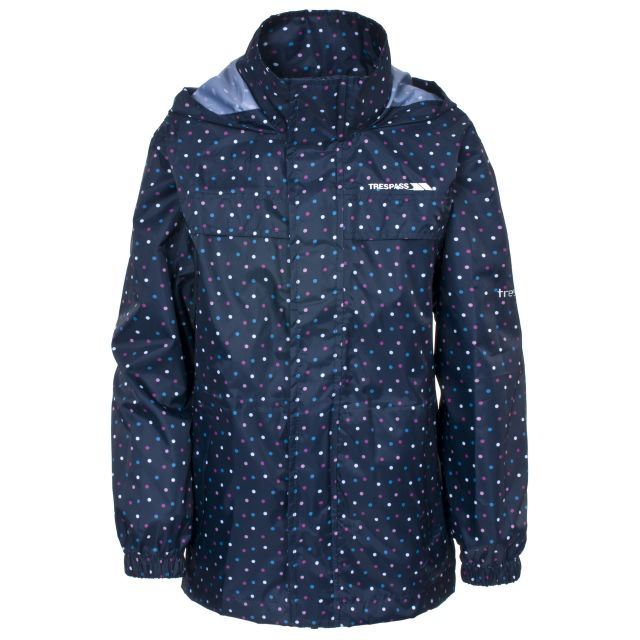 Totam Kids' Waterproof Packaway Jacket  in Navy