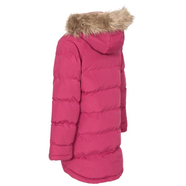 Unique Kids' Water Resistant Padded Jacket in Red