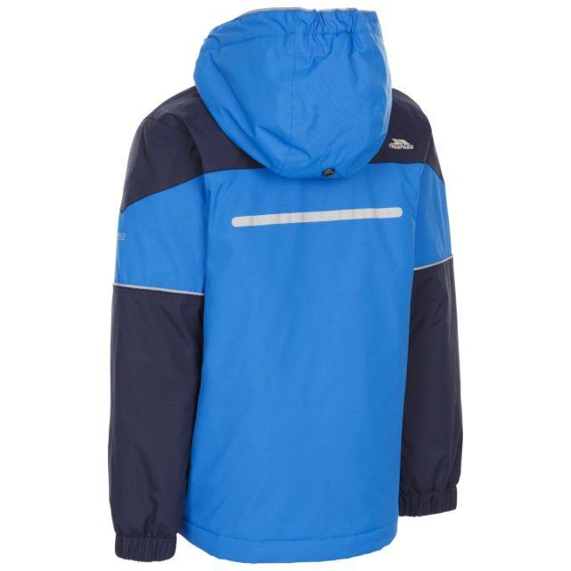 Trespass Kids Padded Waterproof Jacket in Blue Unlock