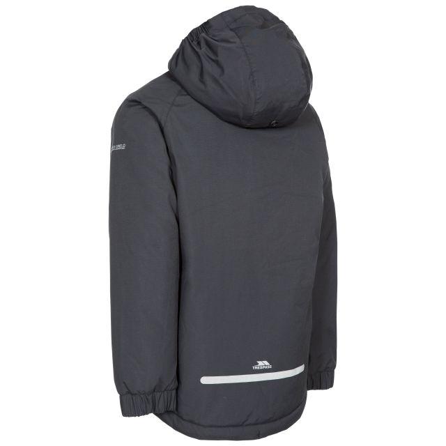 Useful Kids' Padded Waterproof Jacket in Black