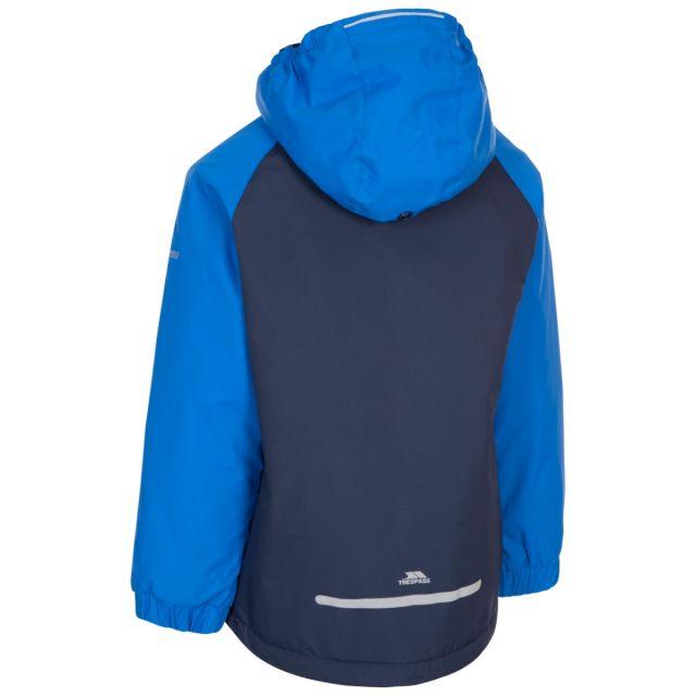 Useful Kids' Padded Waterproof Jacket in Navy