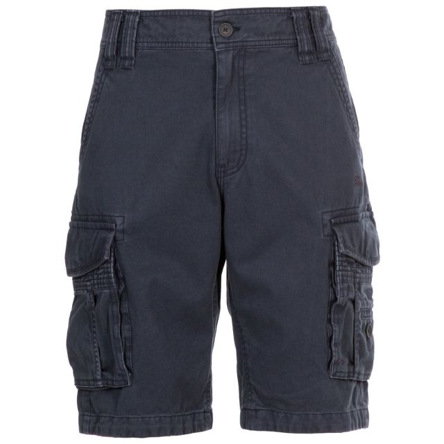Usmaston Men's Cotton Cargo Shorts in Navy