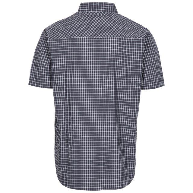 Uttoxeter Men's Cotton Short Sleeve Shirt in Grey