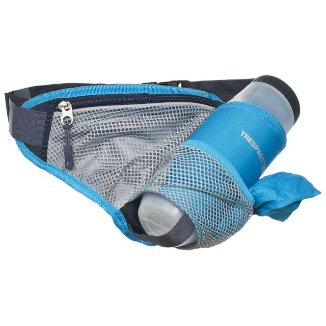Wadi Blue Bumbag With Bottle & Towel in Blue