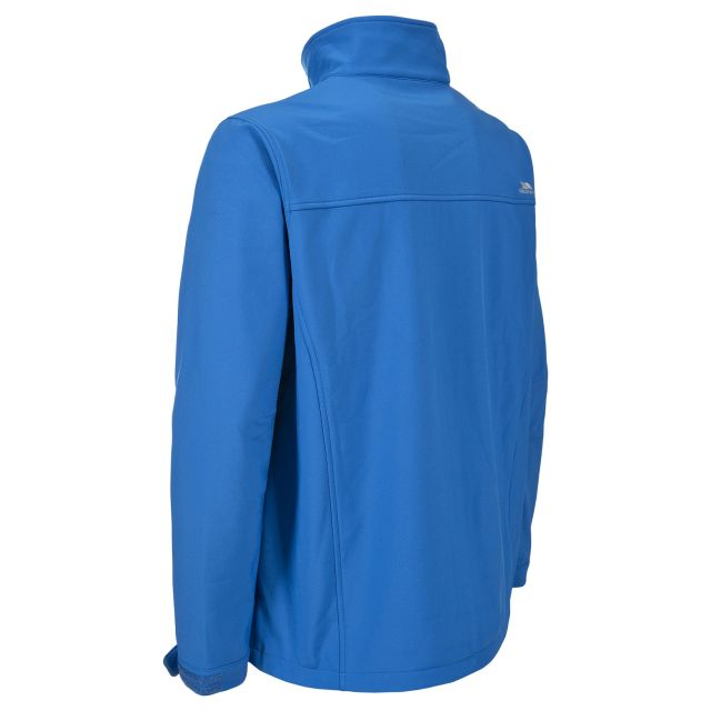 Vander Men's Softshell Jacket in Blue
