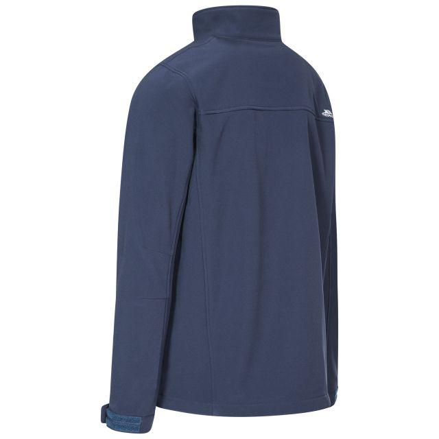 Vander Men's Softshell Jacket in Navy