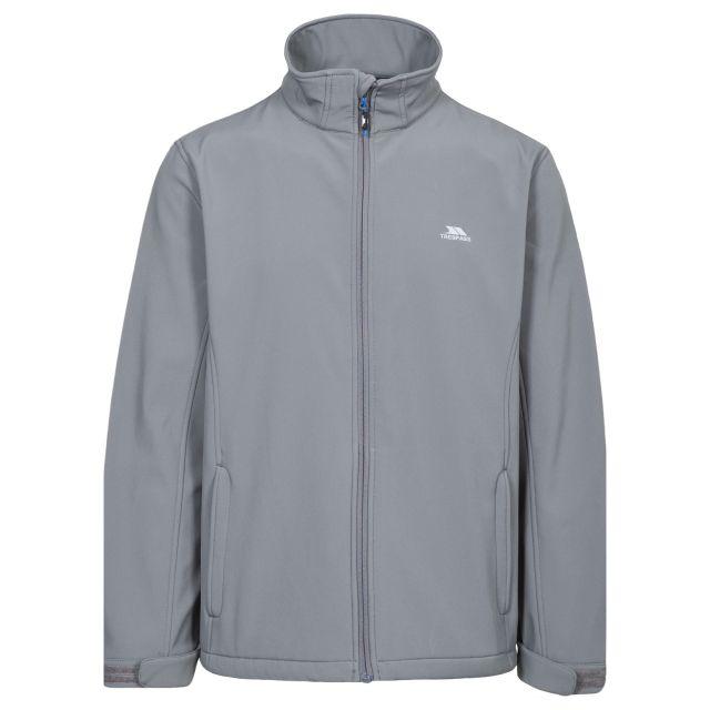 Vander Men's Softshell Jacket in Grey