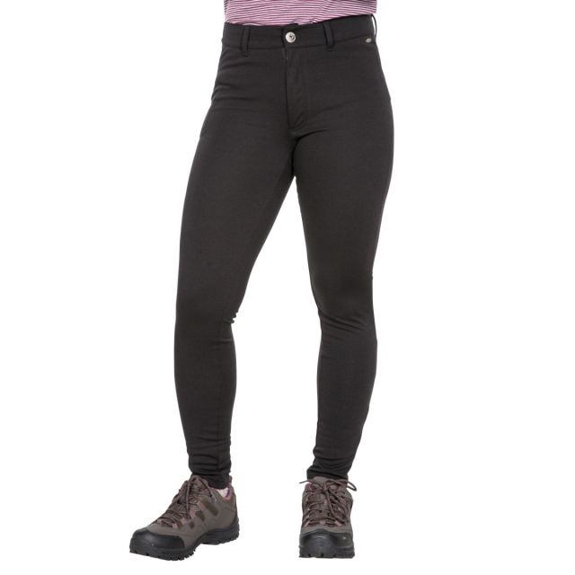 Vanessa Womens Water Resistant Technical Leggings in Black