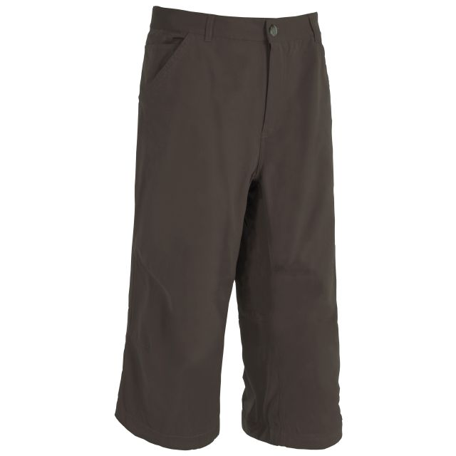 Vauxhall Youth's 3/4 Length Trousers in Dark Brown