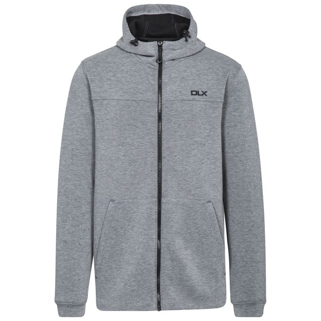 Vega Men's DLX Hoodie in Light Grey