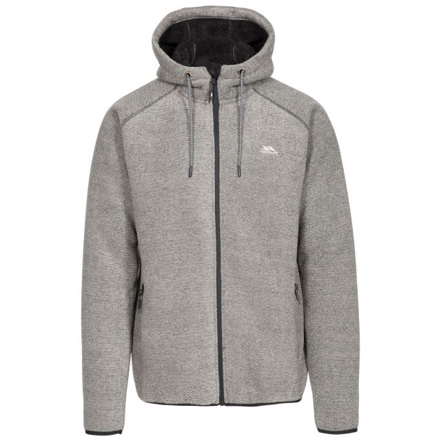 Vetiver Men's Fleece Hoodie in Brown