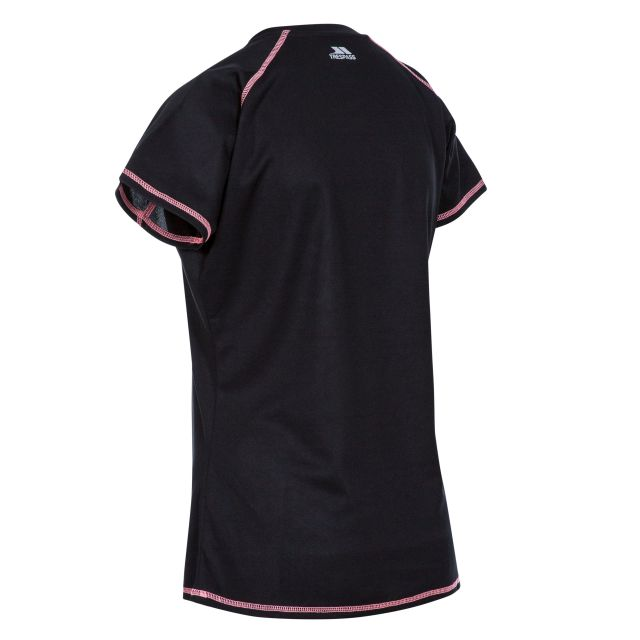 Viktoria Women's Active T-Shirt in Black