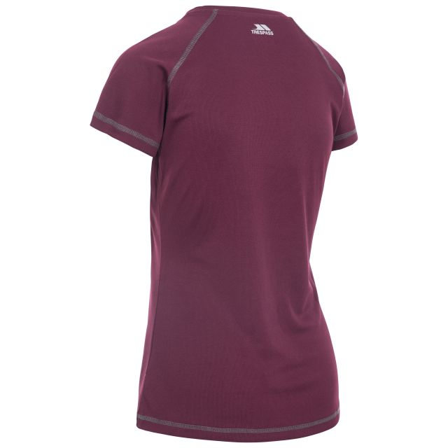 Viktoria Women's Active T-Shirt in Purple