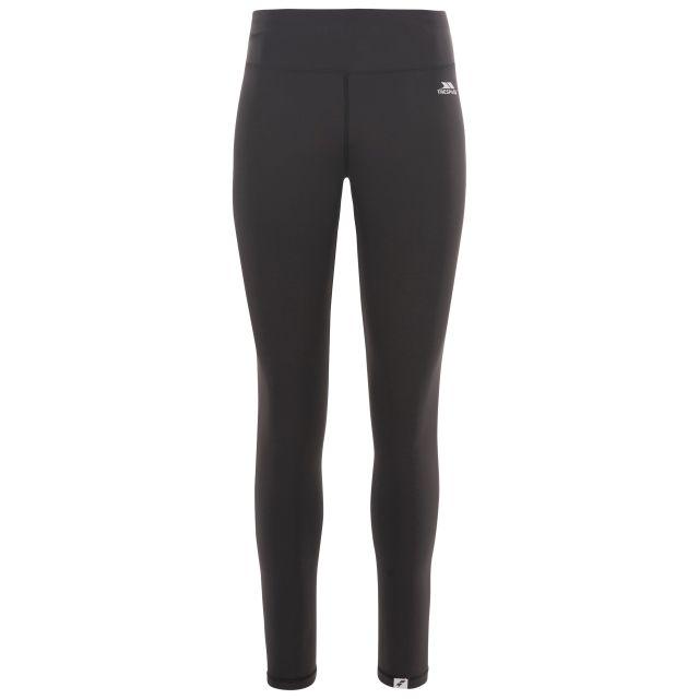 Vivien Women's Wicking Active Leggings in Black, Front view on mannequin
