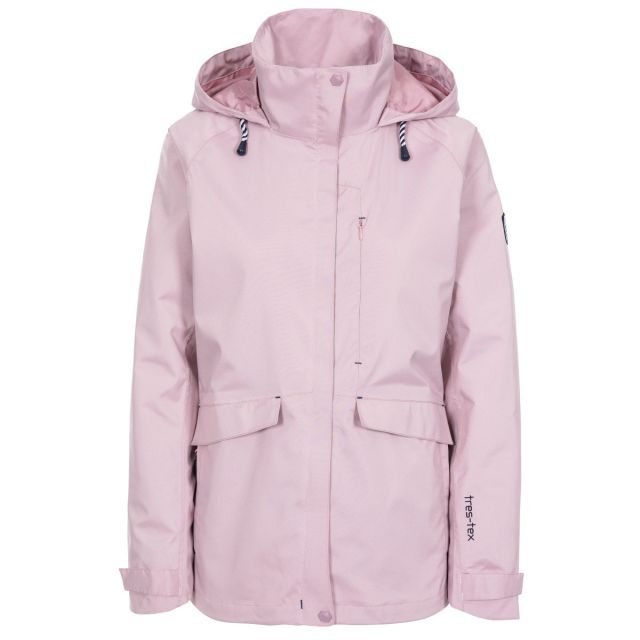 Voyage Women's Waterproof Jacket in Light Purple