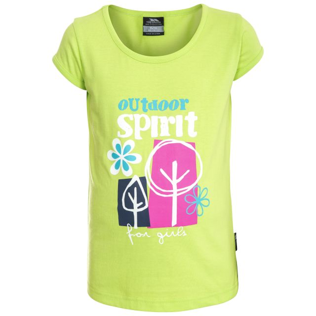 Wallflower Kids' Soft T-Shirt in Green
