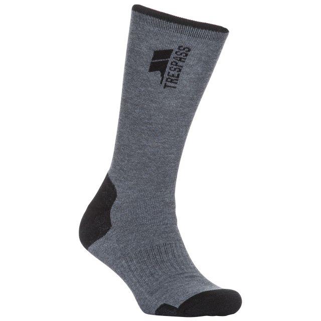 Wayfarer Men's Trekking Socks in Grey