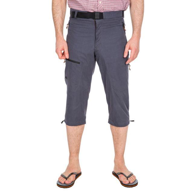 Wellbake Men's 3/4 Length Trousers in Grey