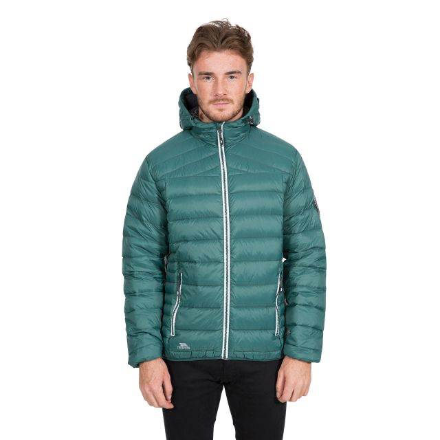 Whitman II Men's Down Packaway Jacket in Green