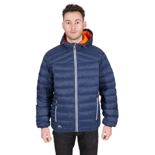 Whitman II Men's Down Packaway Jacket in Navy