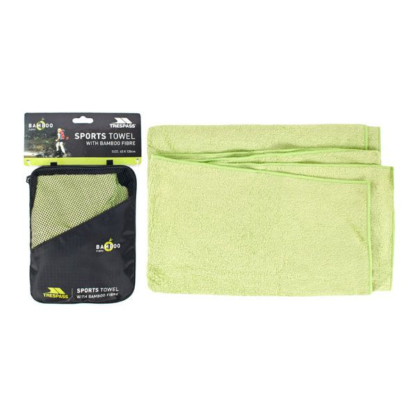 Bamboo Towel 60 x 120cm in Green