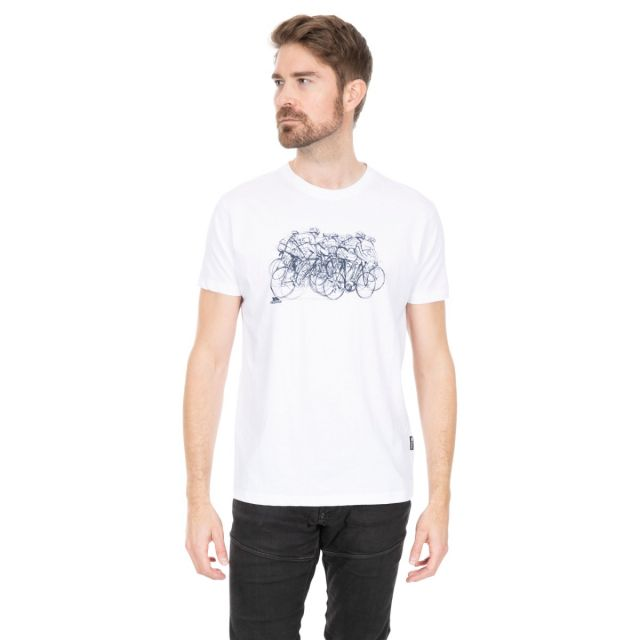 Wicky II Men's Quick Dry Casual T-Shirt in White