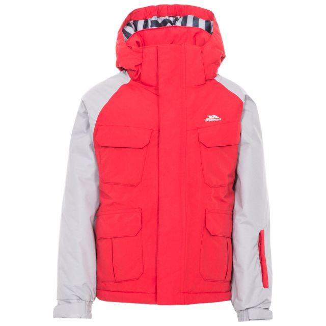 Wilmot Boys' Ski Jacket in Red