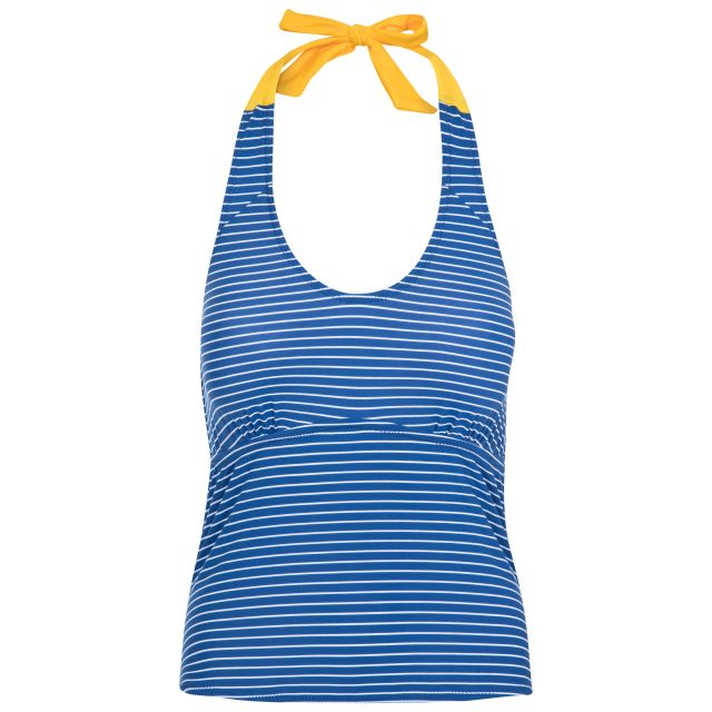 Winona Women's Halterneck Tankini Top in Blue