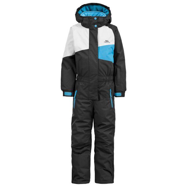 Wiper Kids' Ski Suit in Black