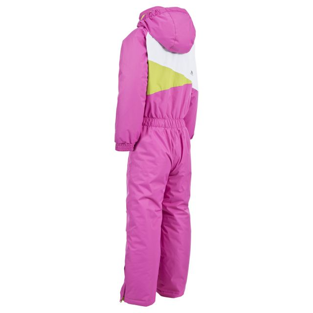 Wiper Kids' Ski Suit in Pink
