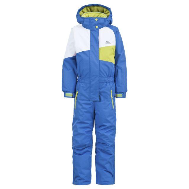 Wiper Kids' Ski Suit in Blue