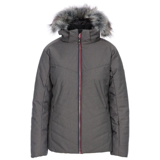 Wisdom Women's Waterproof Ski Jacket in Grey