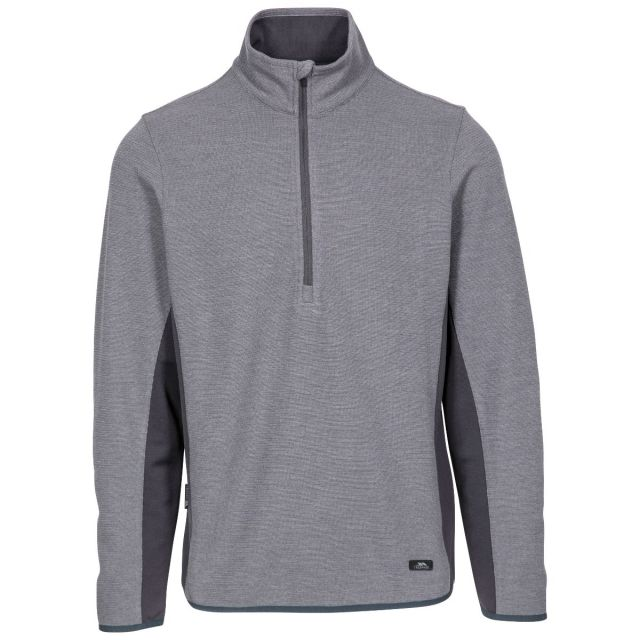 Wotterham Men's Half Zip Knitted Top