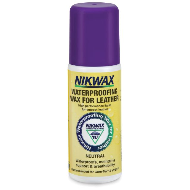 Nikwax Waterproofing Wax Cream For Leather 125ml in White
