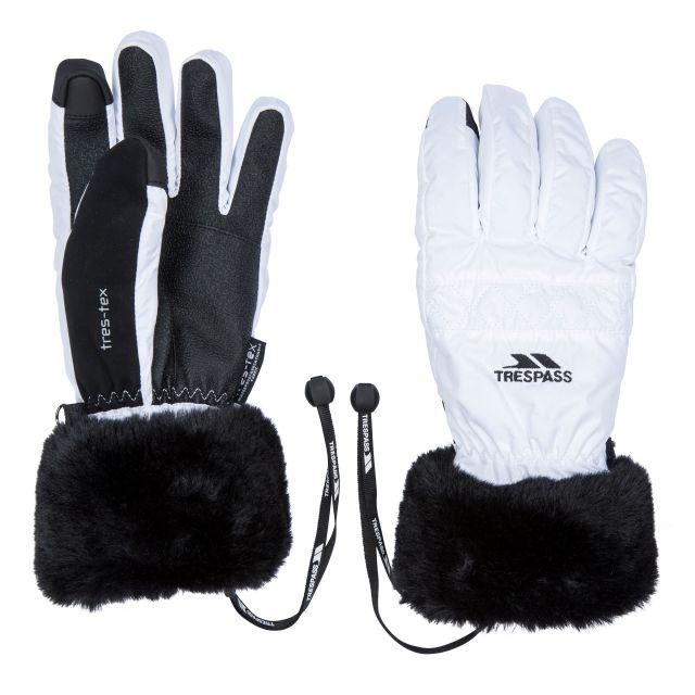 Yanki Adult's Gloves in White