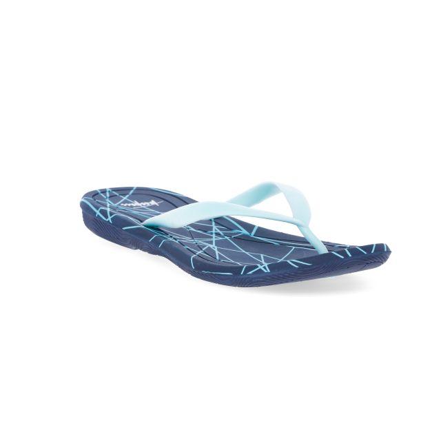 Zola Women's Active Flip Flops in Light Blue