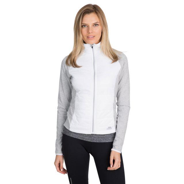 Zorina  Women's Padded Active Jacket in White