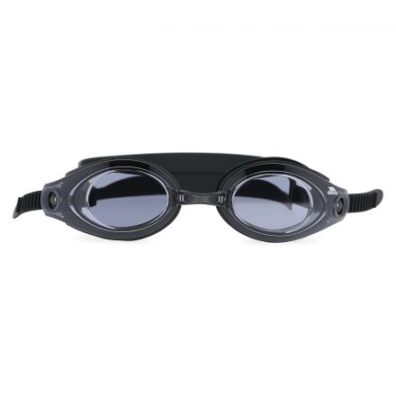 AQUATIC Swimming Goggles in Black, Front view