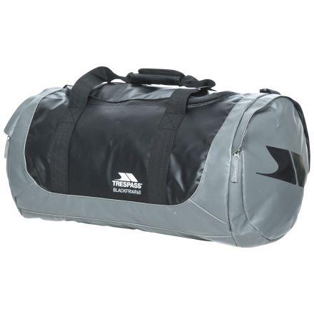 Blackfriar 60 - 60 Litre Waterproof Duffle Bag in Black, Front view