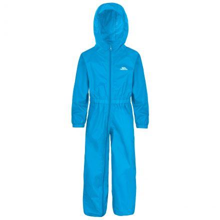 Button Kids' Rain Suit in Blue