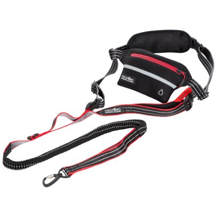 Chester Hands Free Dog Running Lead in Grey