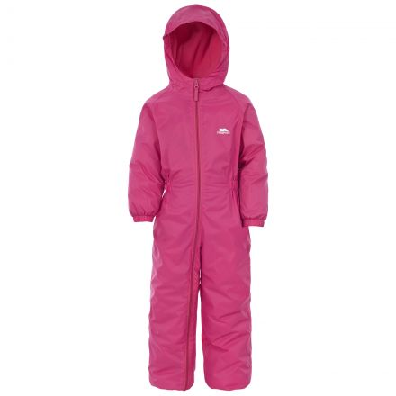 Dripdrop Kids' Puddle Suit in Pink