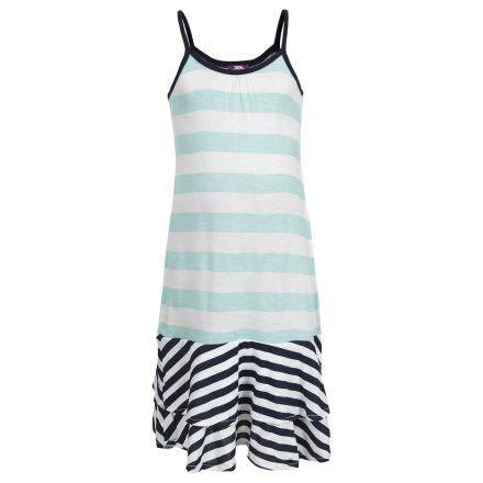Trespass Girls Summer Dress in Navy Edie