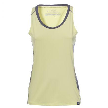 Trespass Women's Sleeveless Thermal T-Shirt Tempo in Yellow
