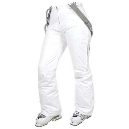 Lohan Women's Waterproof Ski Trousers - WHT