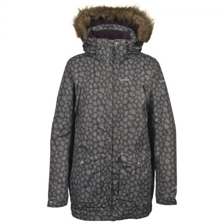 Begin Women's Hooded Ski Jacket in Black